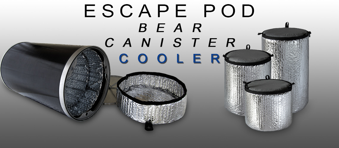 Escape Pod Bear Canister Cooler