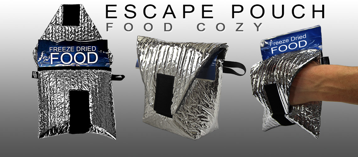 Escape Pouch Freeze-Dried Food Cozy