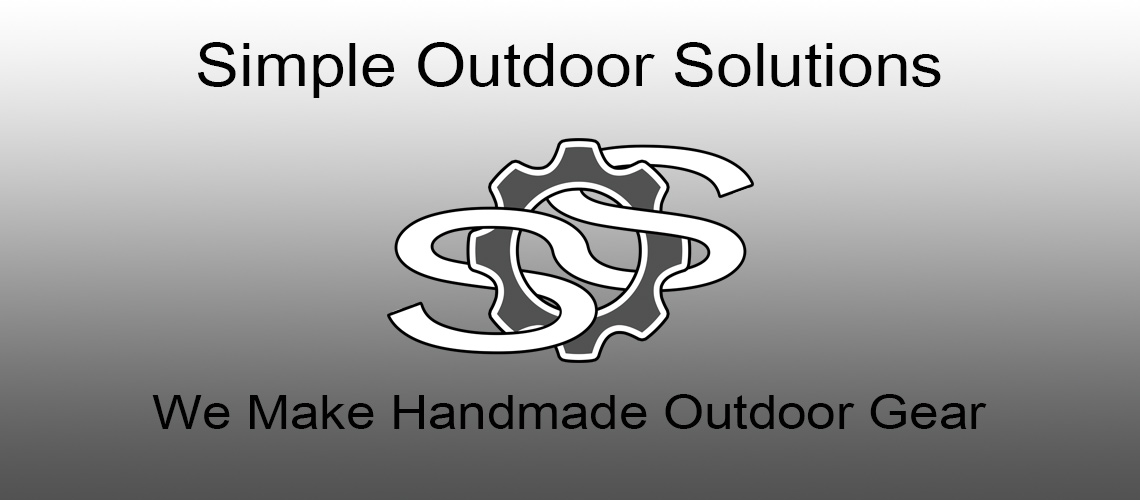 Simple Outdoor Solutions Handmade Outdoor Gear
